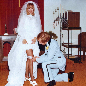 The Garter Toss: Vintage Photographs of a Wedding Tradition