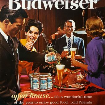 Here's To Good Friends: Socializing Like a Boss in Vintage Alcohol Ads