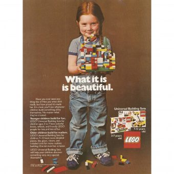 LEGO Marketing Materials From the 1960s-1980s Encouraged Boys and Girls to Build Together