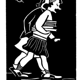 Flannery O'Connor's Sardonic Cartoons Lampoon School and Convention (1942-1945)