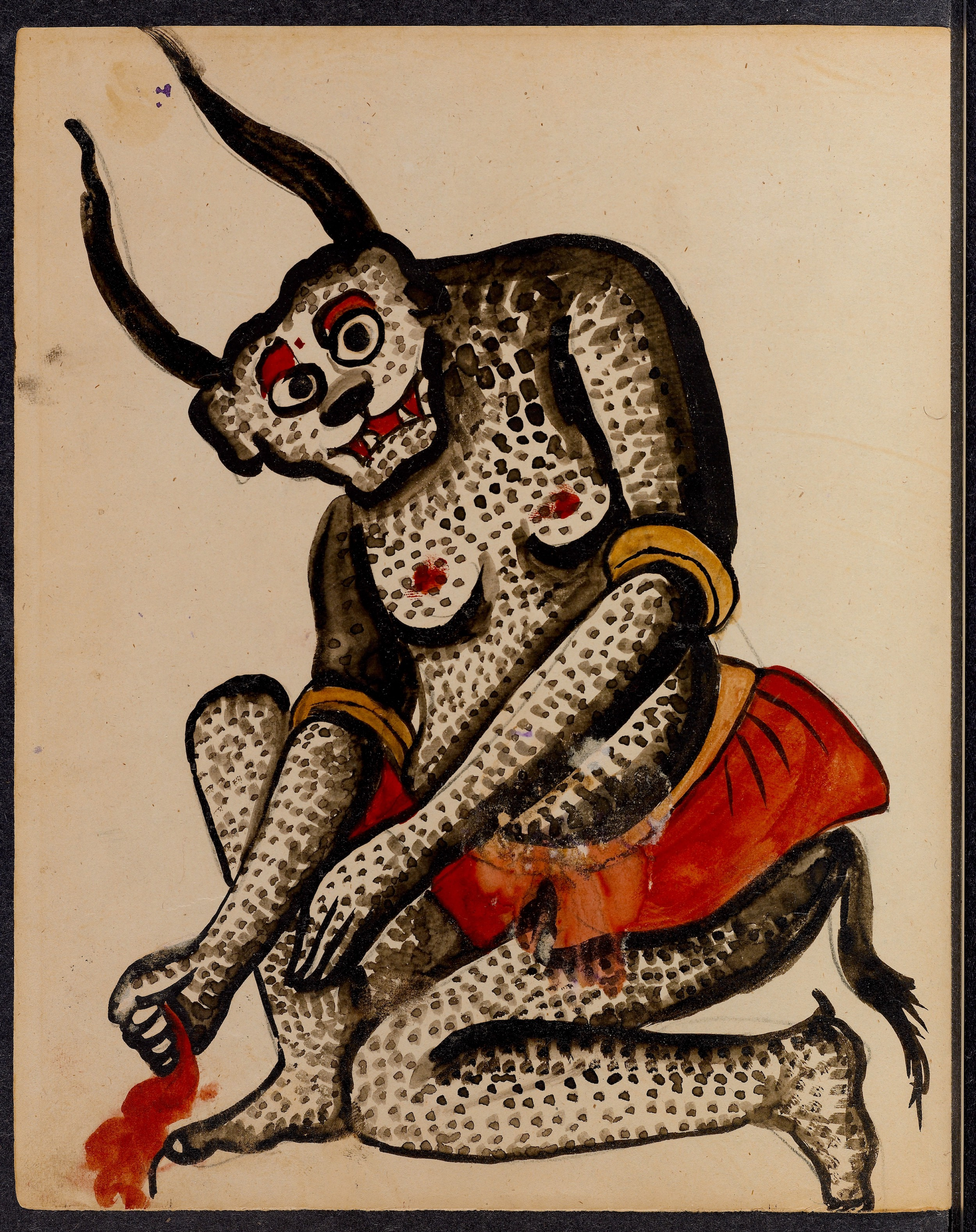 Iran Demons art book 20th Century Isfahan