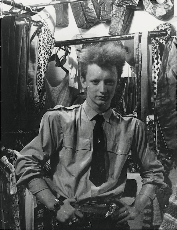 George O'Dowd in Street Theatre, 12 Ganton Street, central London, 1978. Photo (c): Boy George Collection