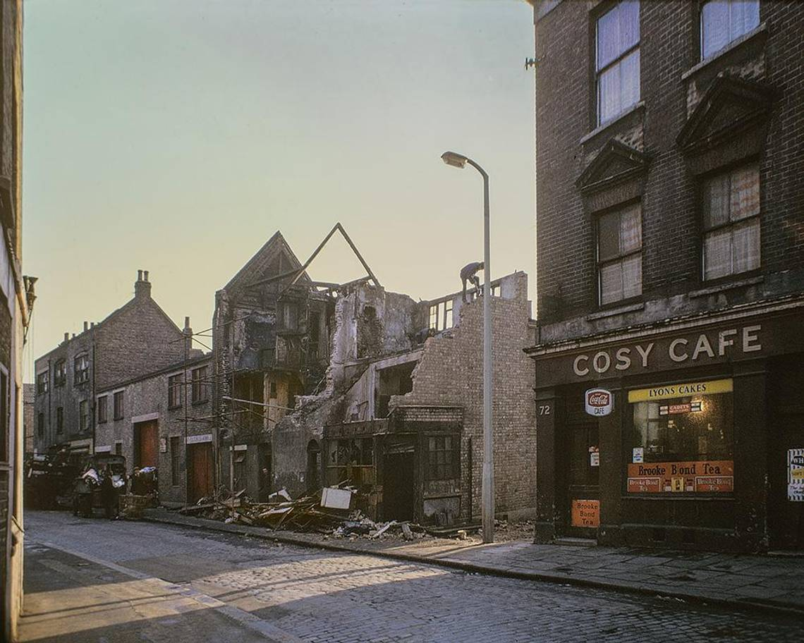 Cheshire St, 1969 London Kodahrome