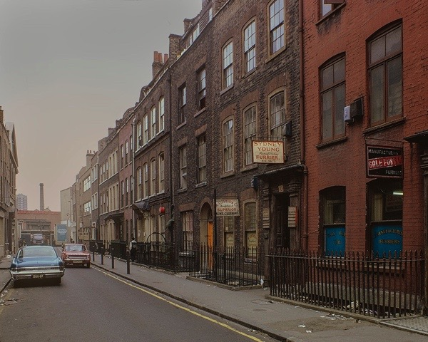 Fournier St, 1968 London