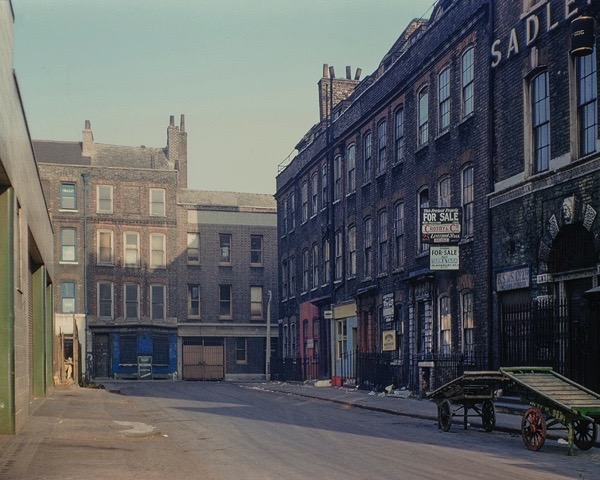Folgate St, 1979 London