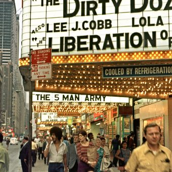New York City in all its Neon-Lit Glory, 1969 – 1971