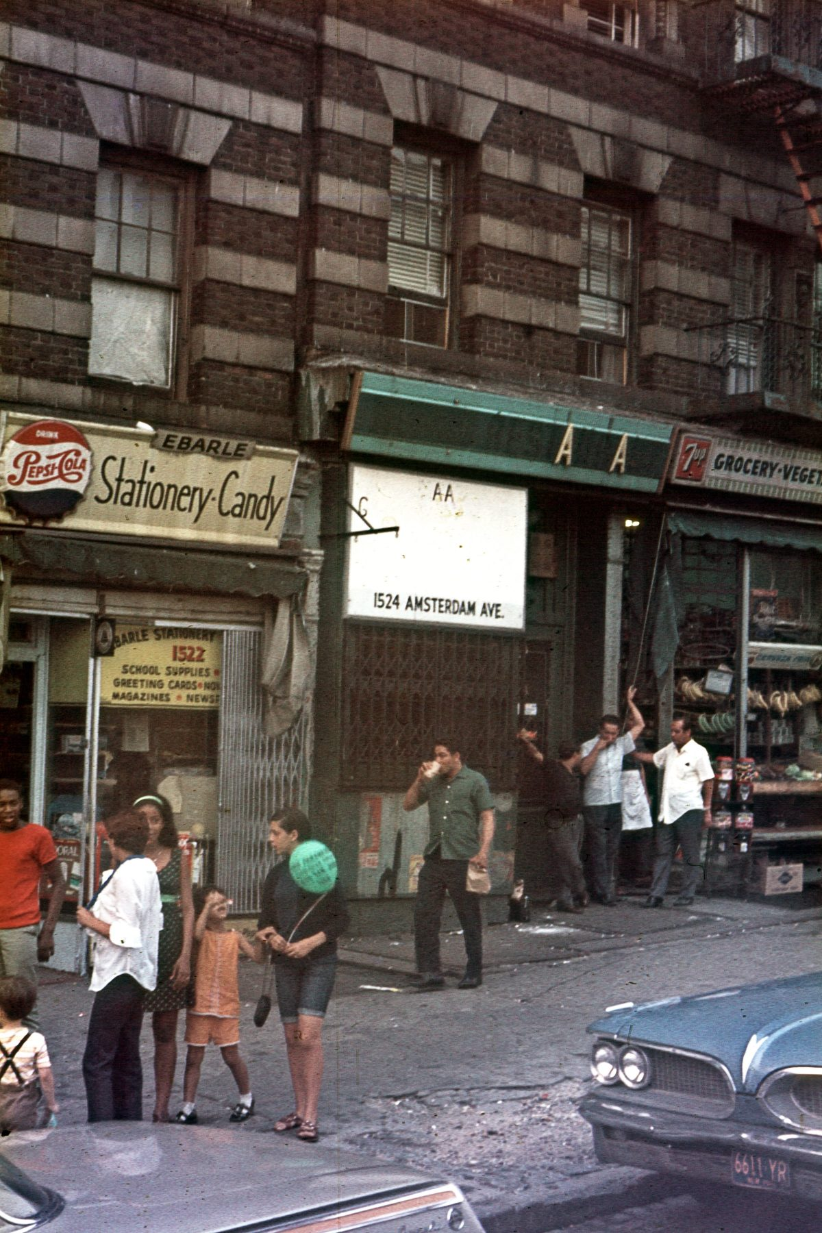 New York City In All Its Neon Lit Glory 1969 1971