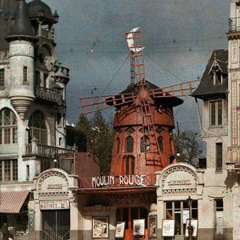 Gorgeous, Color Photographs of Paris Between The Great War And La Belle Époque