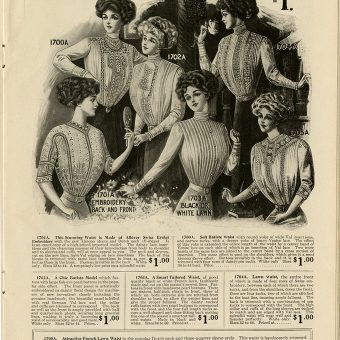 Shirtwaist Fashion, The 'Gibson Girl' and the Triangle Shirtwaist Factory Disaster of 1911