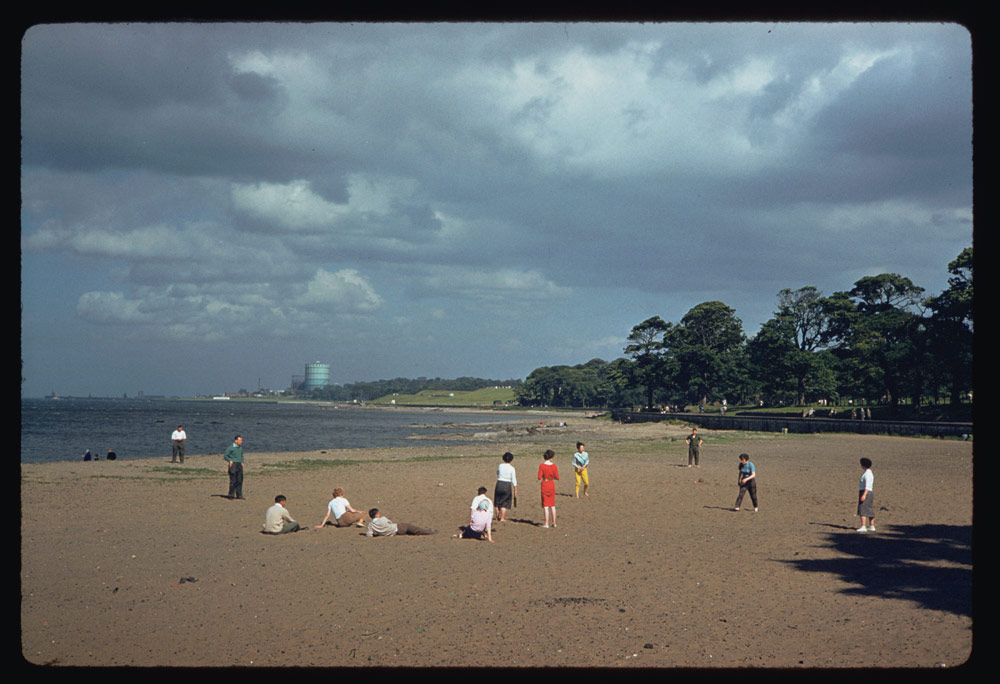 Jun. 18, 1961 - Beach along Firth of Forth near Cramond