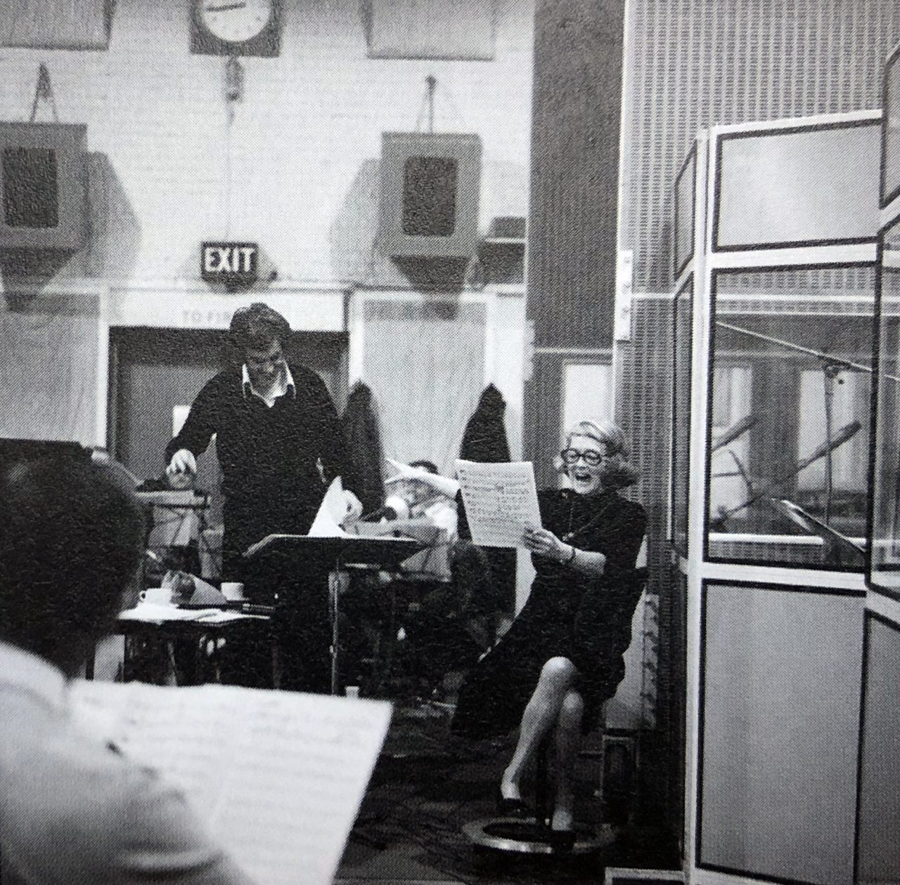 """Funny business, a woman's career"" – Miss Bette Davis Sings at Abbey Road in 1976"