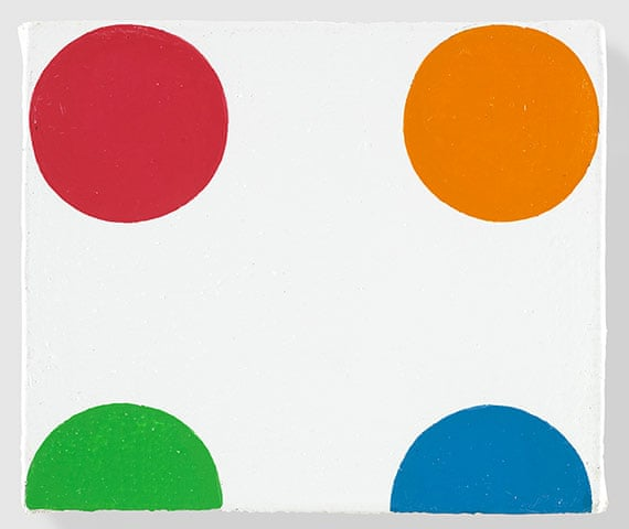 Bromchlorophenol Blue (1996) Photograph- Damien Hirst:Science Ltd:Gagosian Gallery