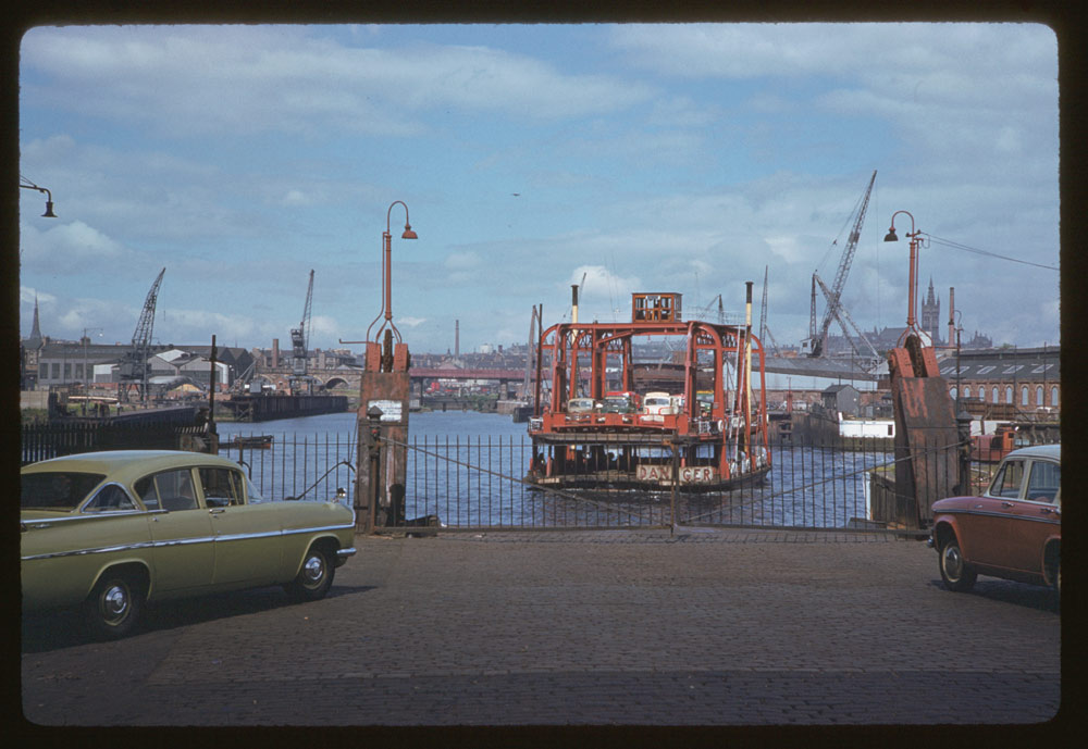 June 19, 1961 - Ferry ship River Clyde Glasgow