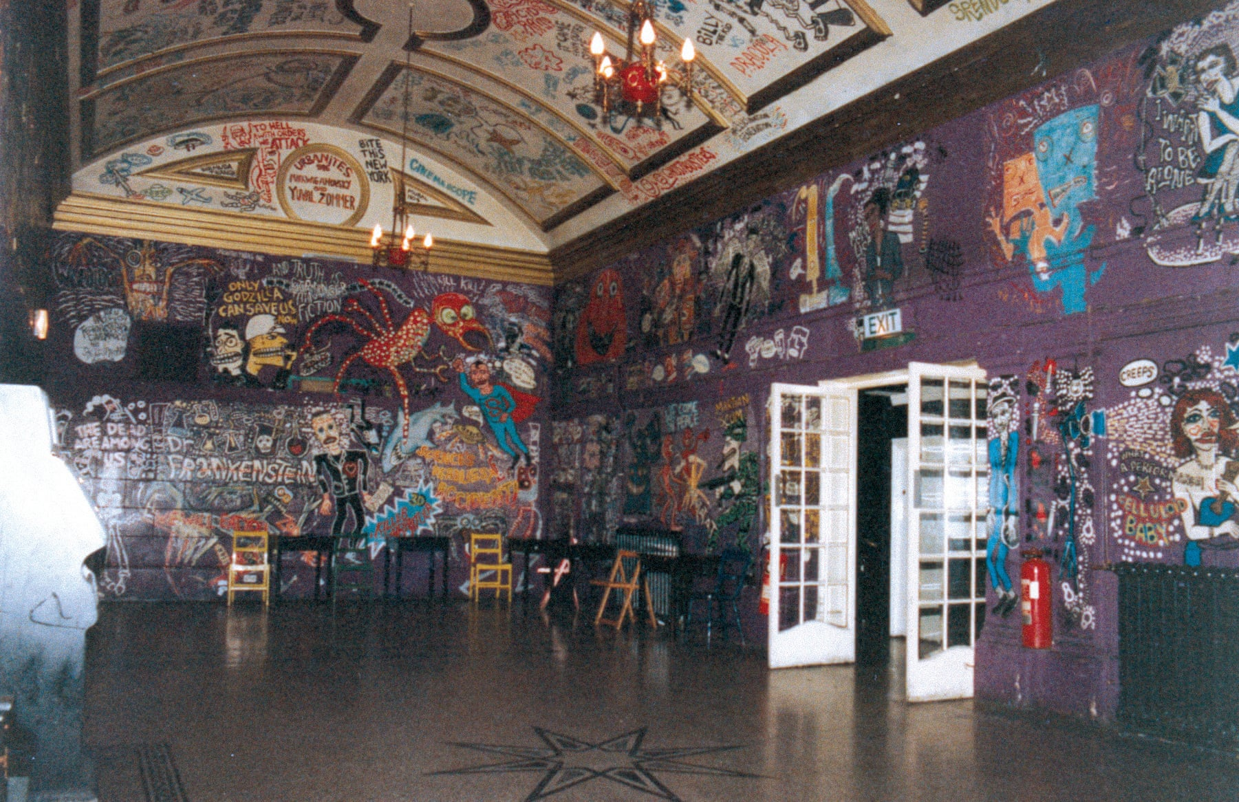 Foyer of the Scala, c1990. Photograph- FAB Press