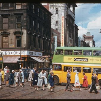 From Edinburgh to Glasgow in 1961
