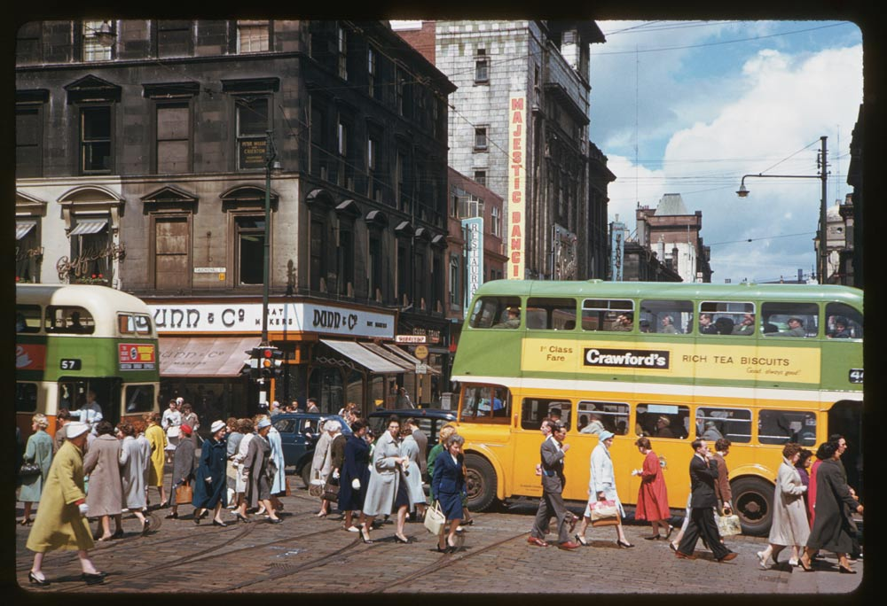Jun 19, 1961 - Hope and Sauchiehall Streets Glasgow