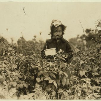 Lewis Hine's Striking Portraits of US Child Laborers in the 1900s