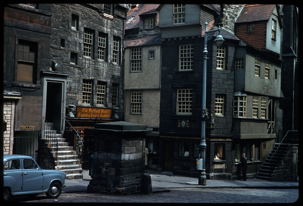 Jun. 18, 1961 - John Knox house High St. Edinburgh