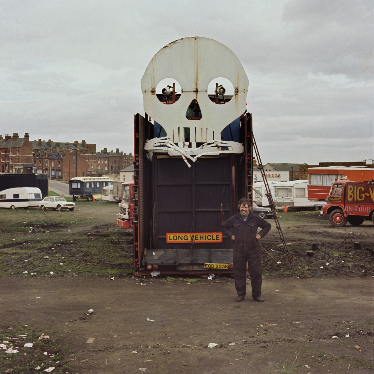Francis Craven on Woodhouse Moor, Leeds in April 1979