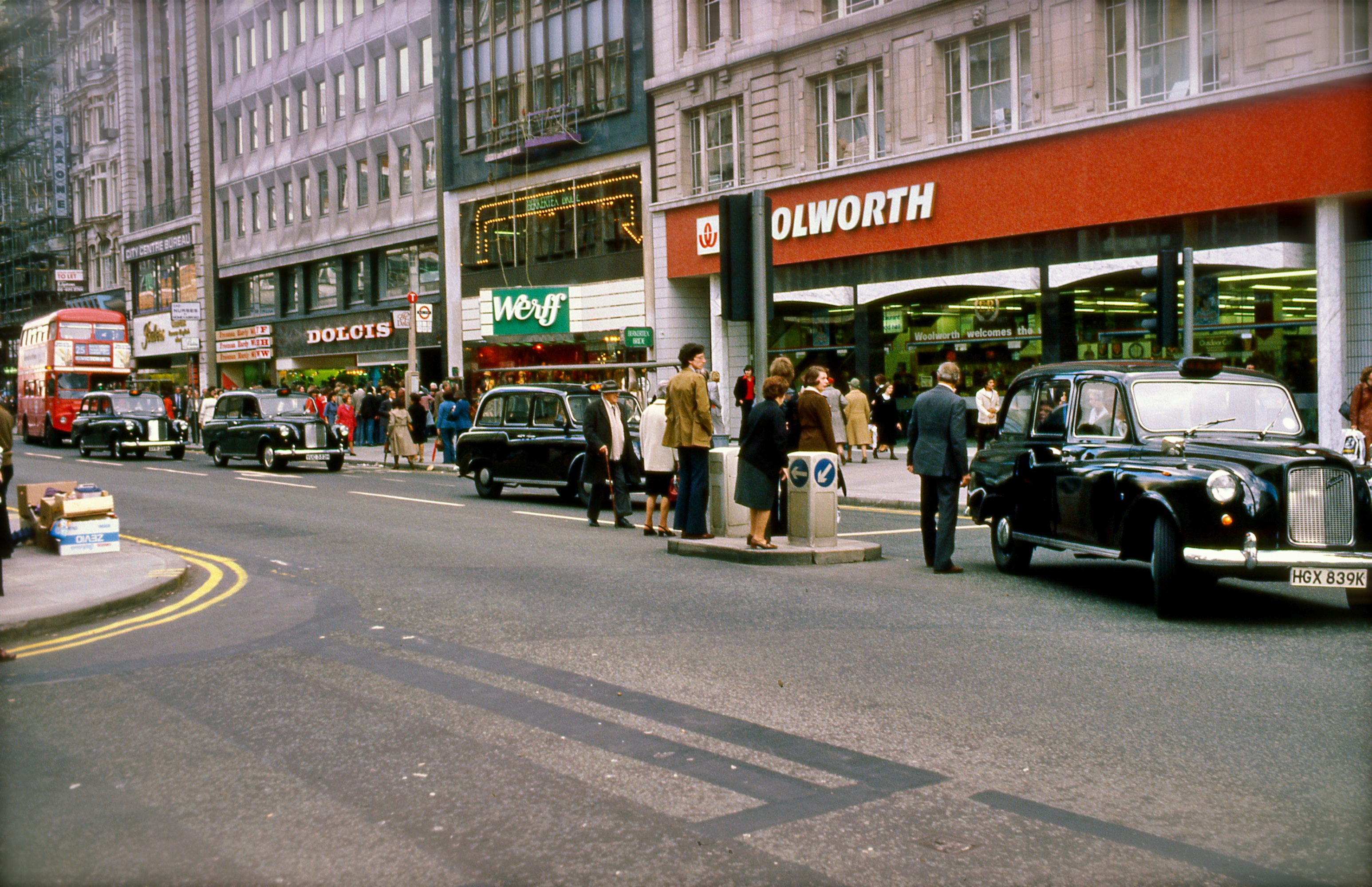 London 1977 October snapshots Kodachrome