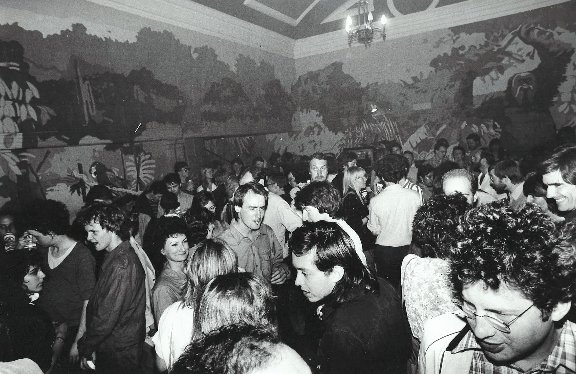 Opening night of the Kings Cross Scala, 1981. Photograph- FAB Press