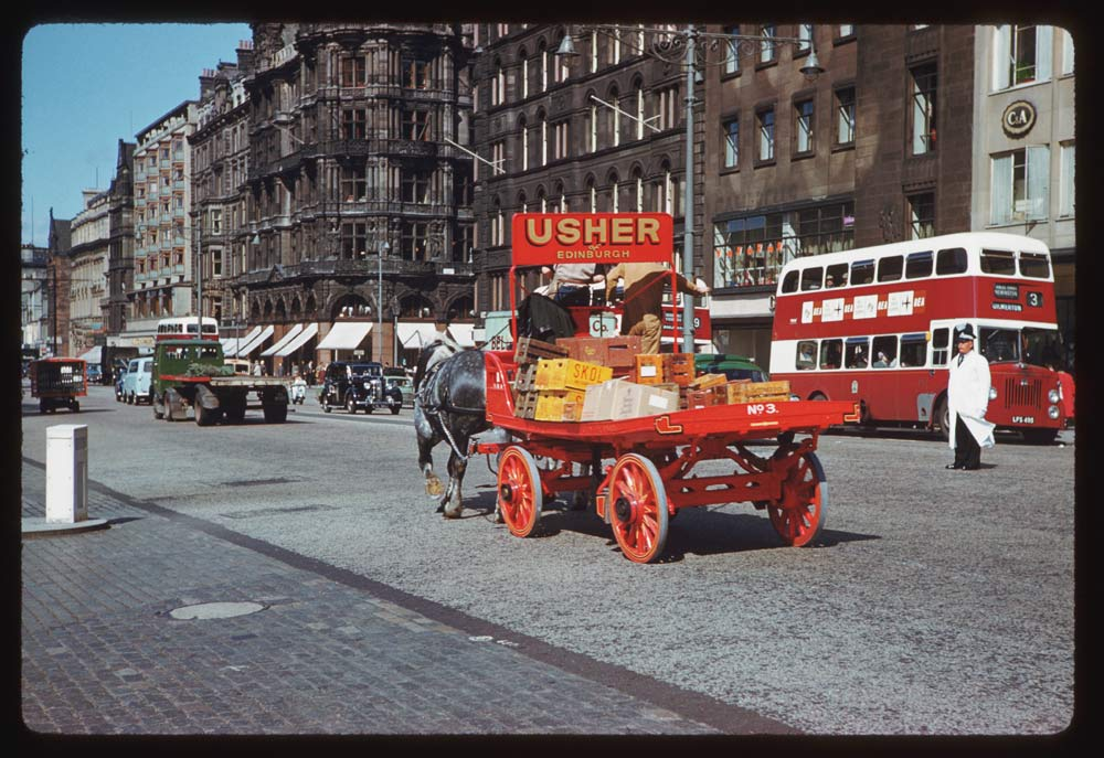 June 19, 1961 - Princes Street at St. Andrew Edinburgh