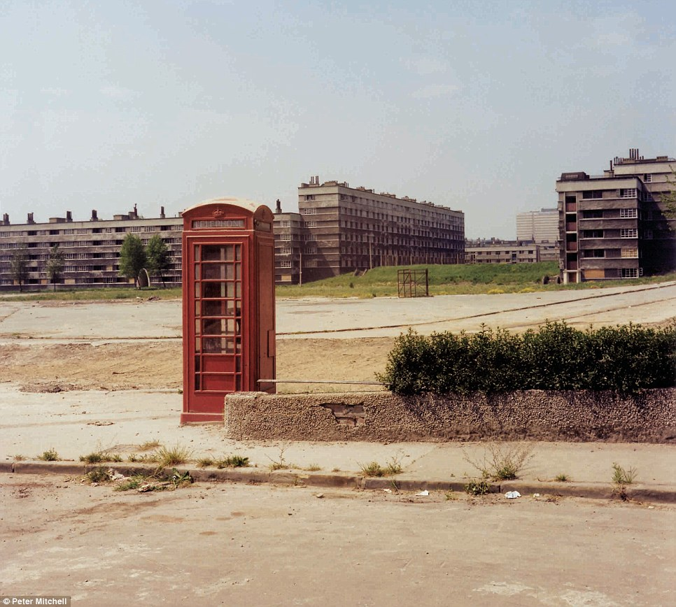 Quarry Hill Flats in Leeds, seen here in the summer of 1977