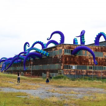 An Old Warehouse at Philadelphia's Navy Yard is Home To a Massive Sea Monster