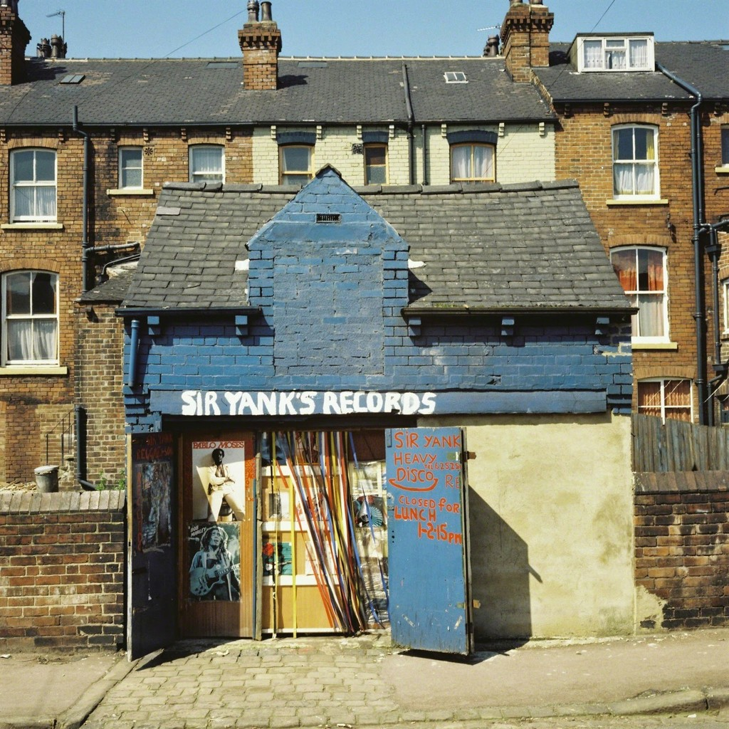 Sir Yank's Records (& Harvey Disco), Gathorne Street, Leeds (1976)
