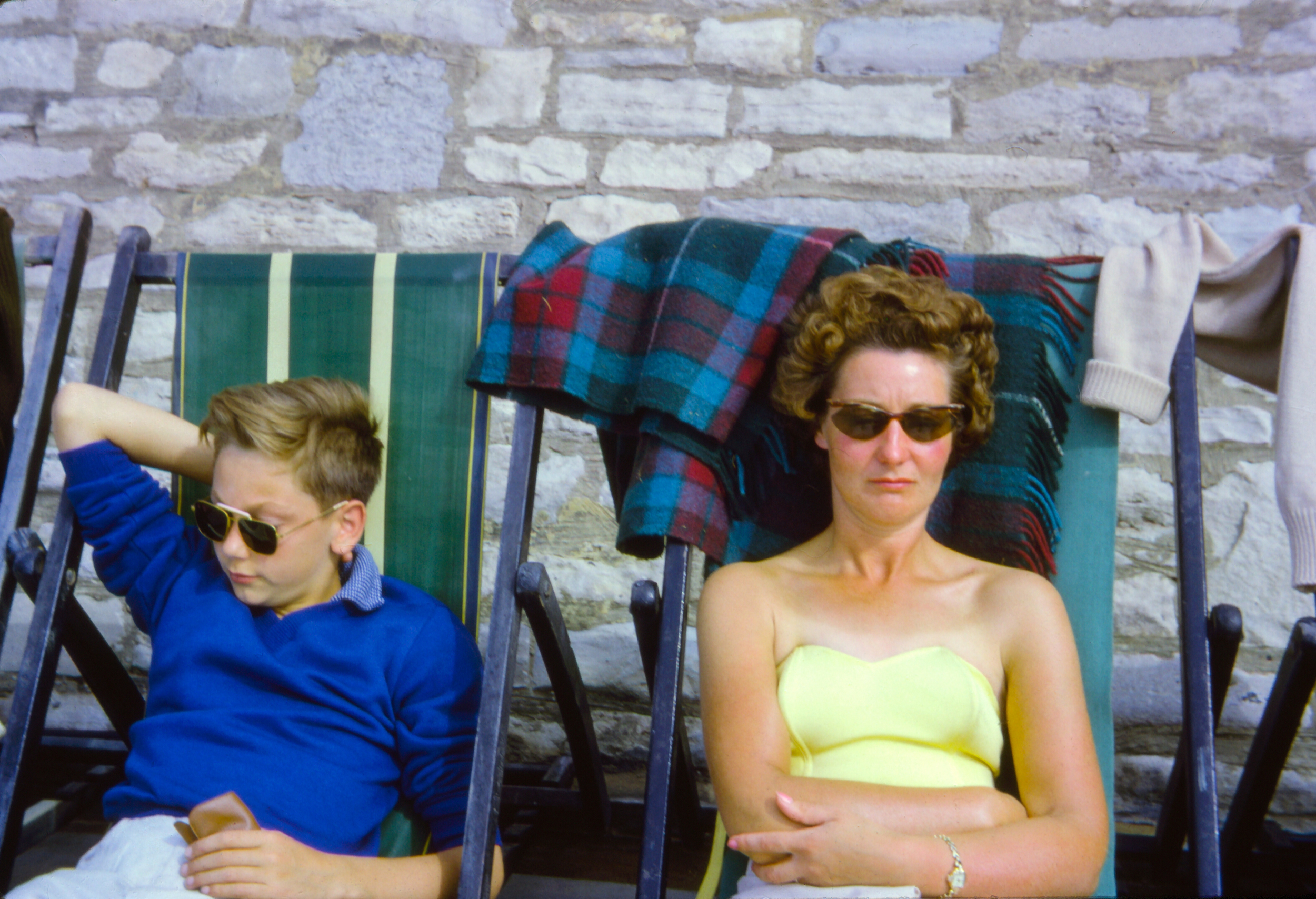 Just Chillin - Kodak Slide - 1960