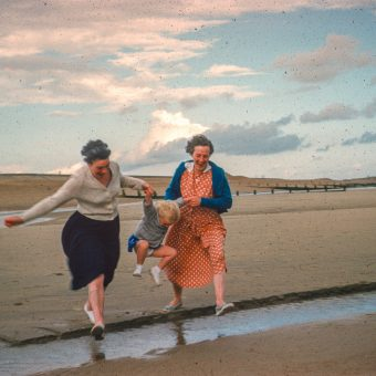 Kodachrome Snapshots of the British on The Beach