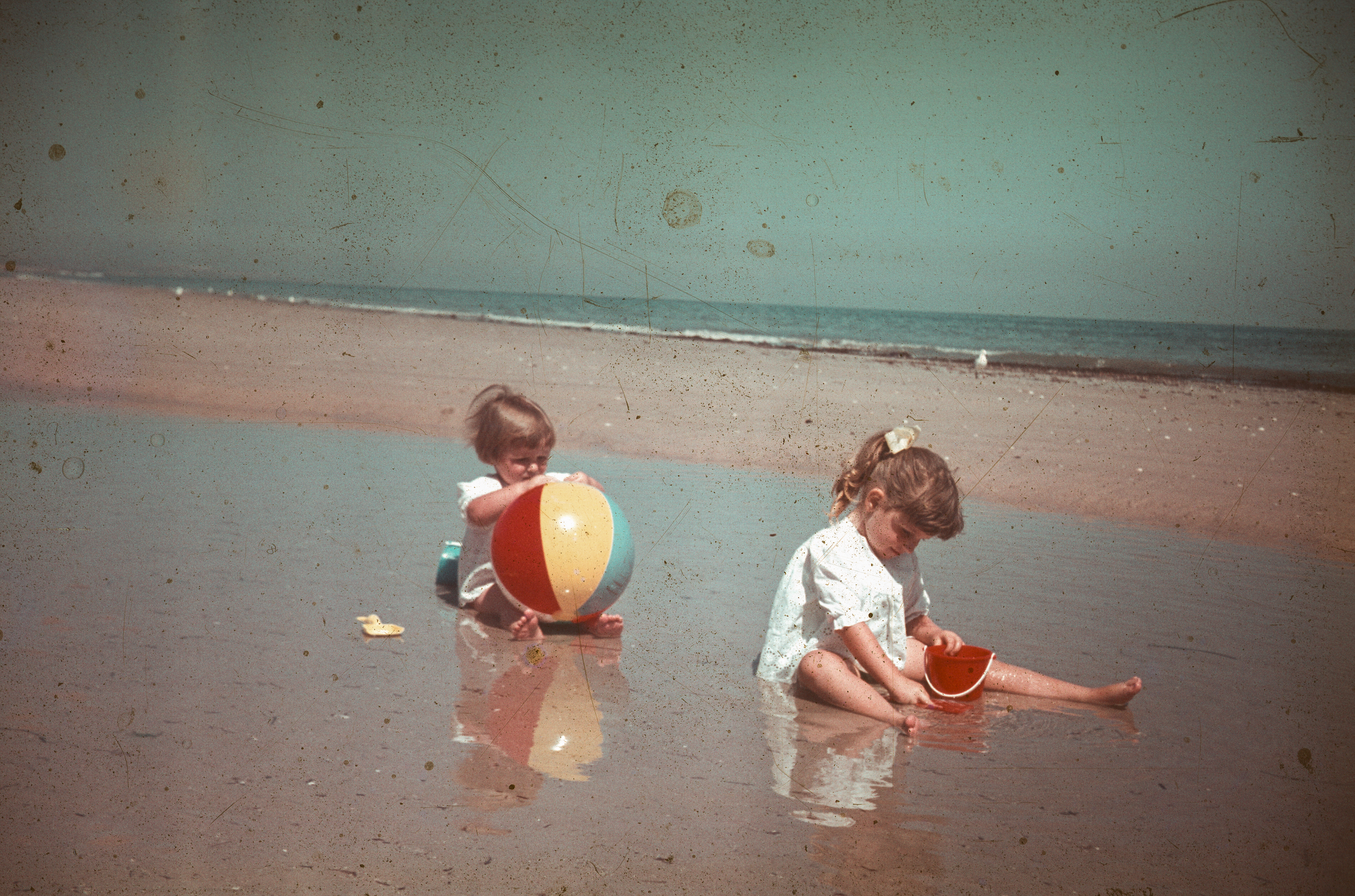 2 Girls on The Beach - Date and Location Unknown