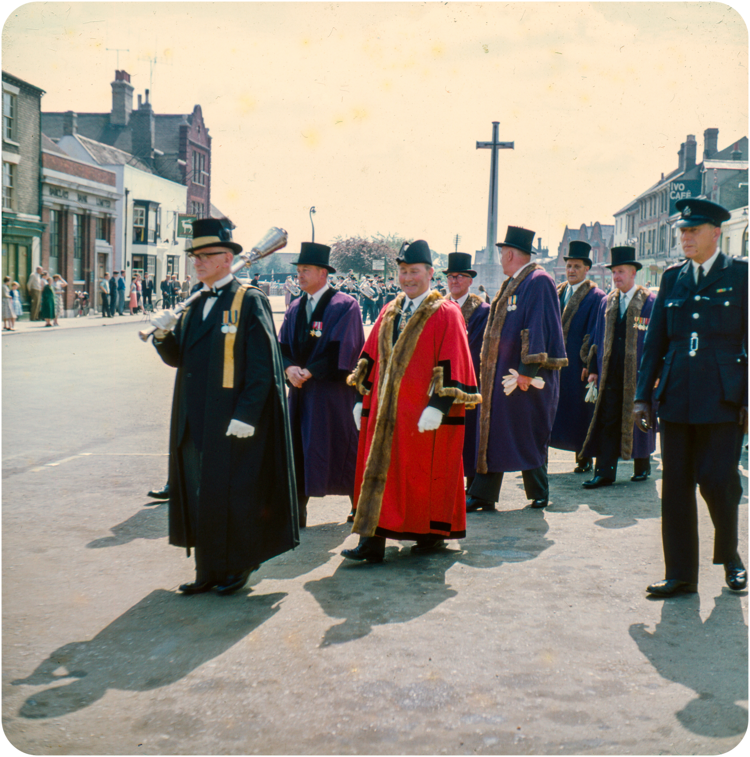 Procession - Market Hill, St. Ives - 1960