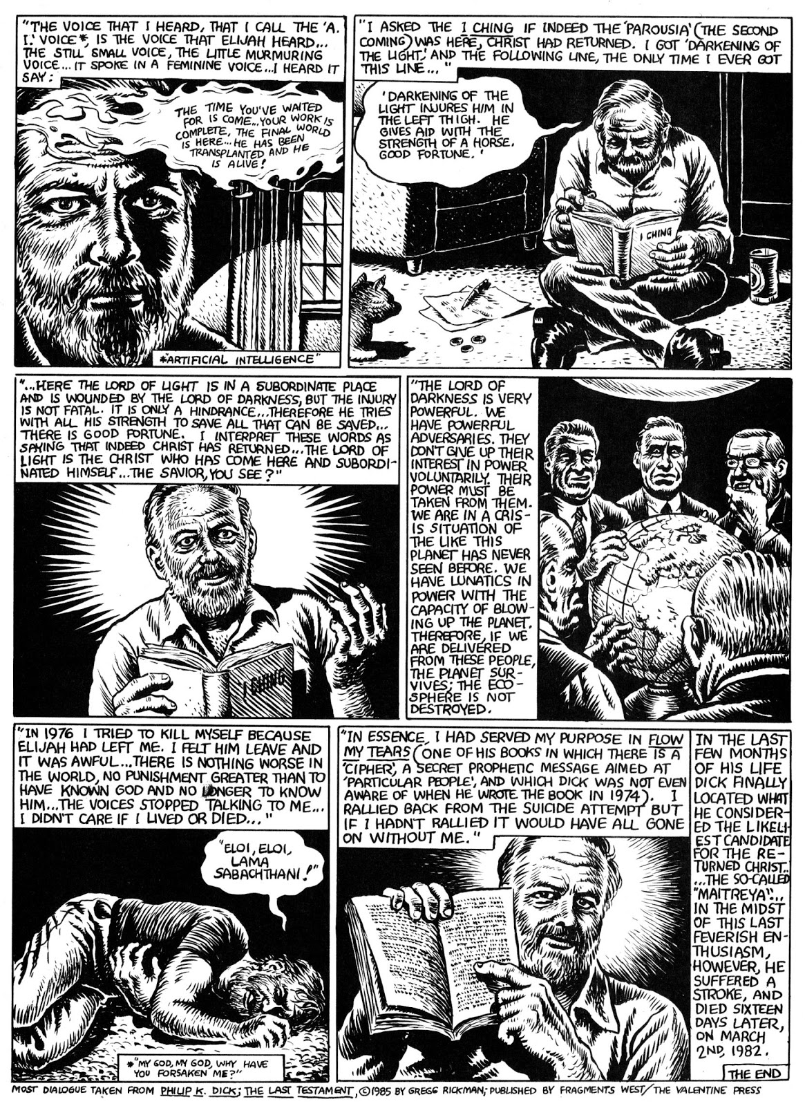 The Religious Experience of Philip K. Dick Robert Crumb