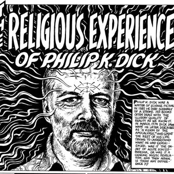 Robert Crumb Draws God's Meeting With Philip K. Dick (1974)