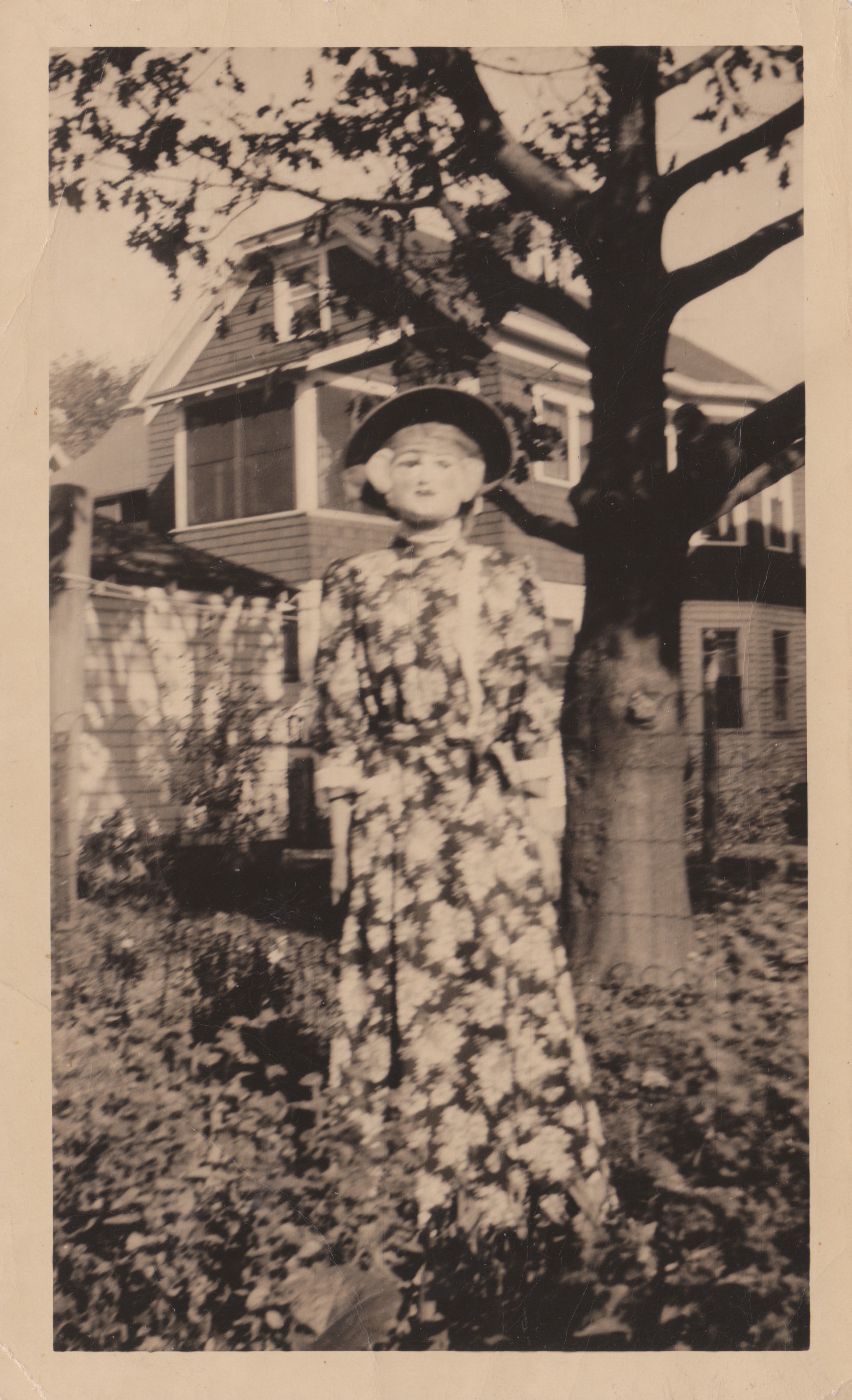 Halloween snapshots vintage photos