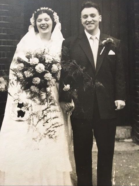 Bermondsey London wedding 1953