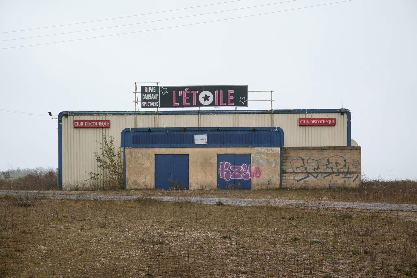 abandoned French nightclubs disco Tabuchi