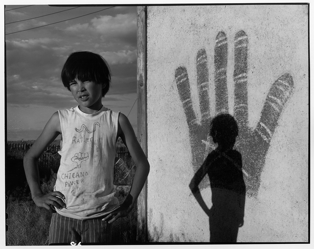 Johnnie Sanchez as a Boy, Bernalillo, NM., 1973