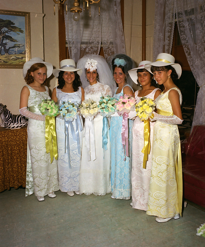 Vintage Wedding Dresses Nyc: More Found Wedding Portraits From 1960s New York (Part 2