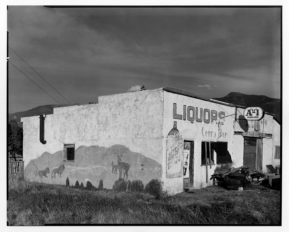 Cerro Bar, New Mexico 1971