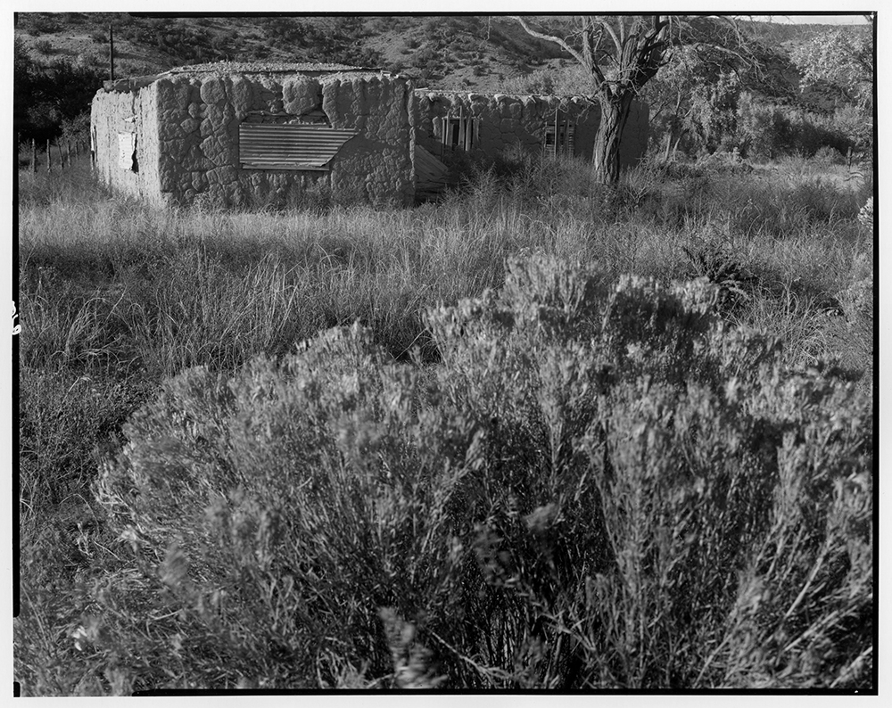 Adobe ruin, New Mexico 1972