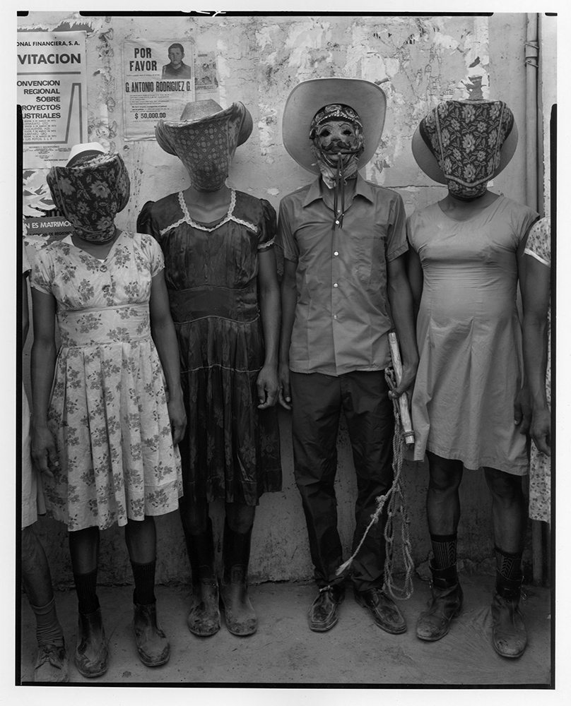 Four Matachines, Tamazunchale, Mexico 1973
