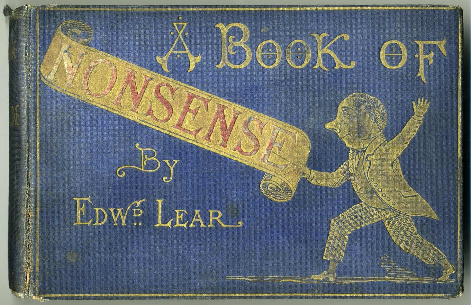 A Book of Nonsense by Edward Lear , colour version, 1862