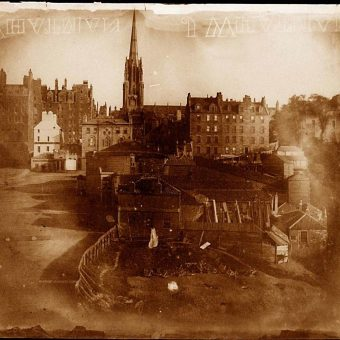 Some of the Earliest Photographic Views of Edinburgh, 1843-44