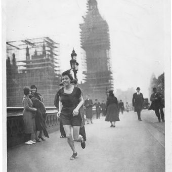 Florence Ilott Races Big Ben (1934)