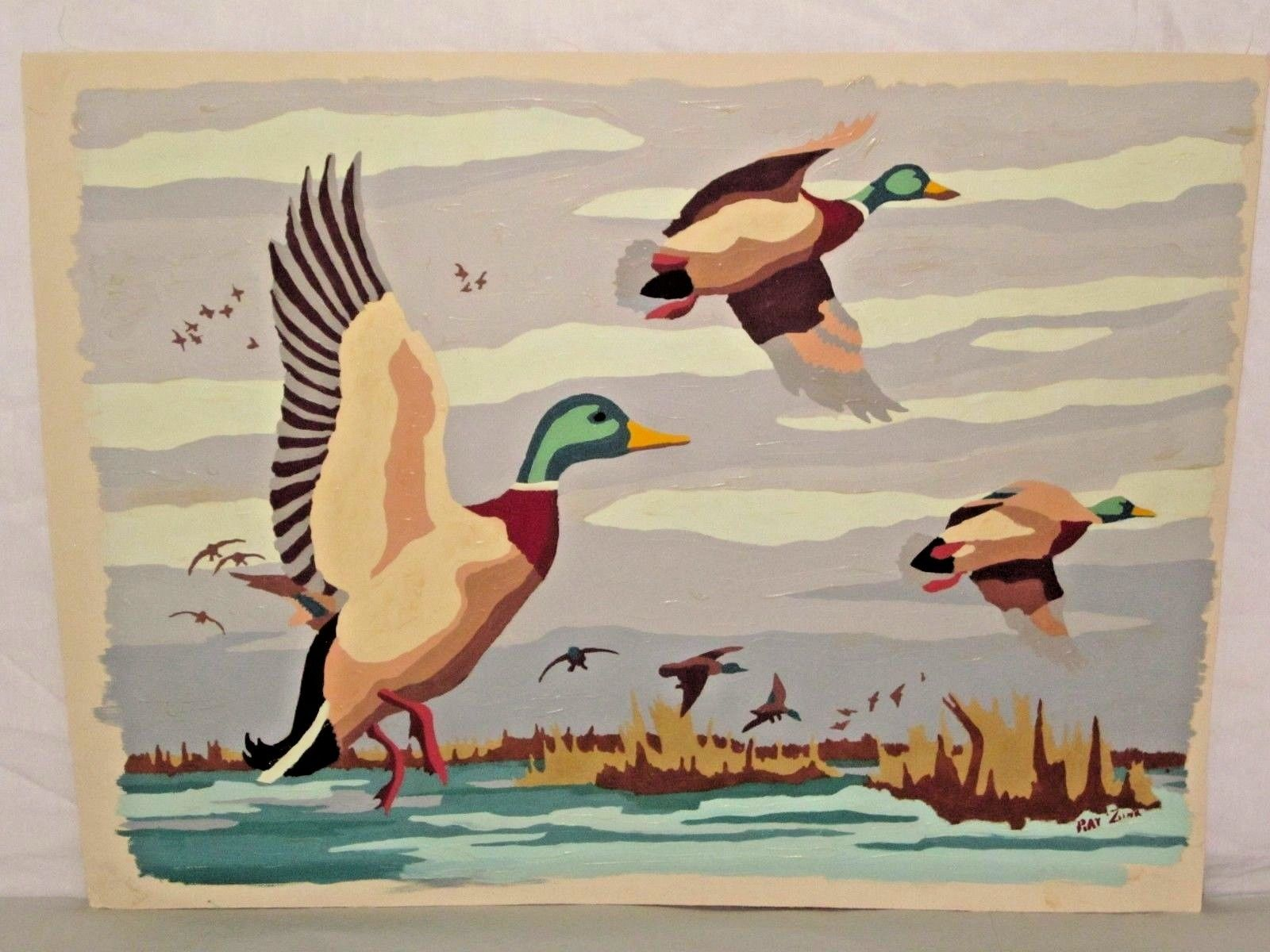 duck in flight 1952