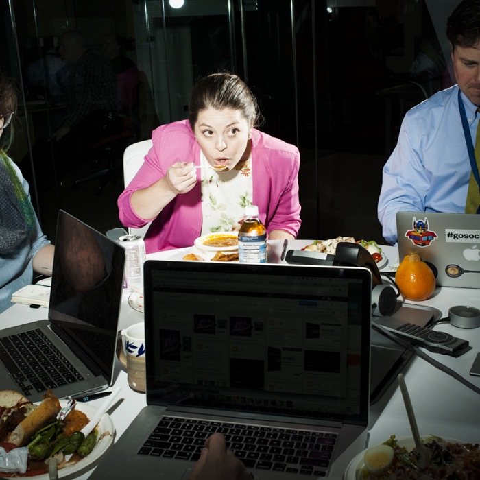 eating at your desk brian finke desk top dining
