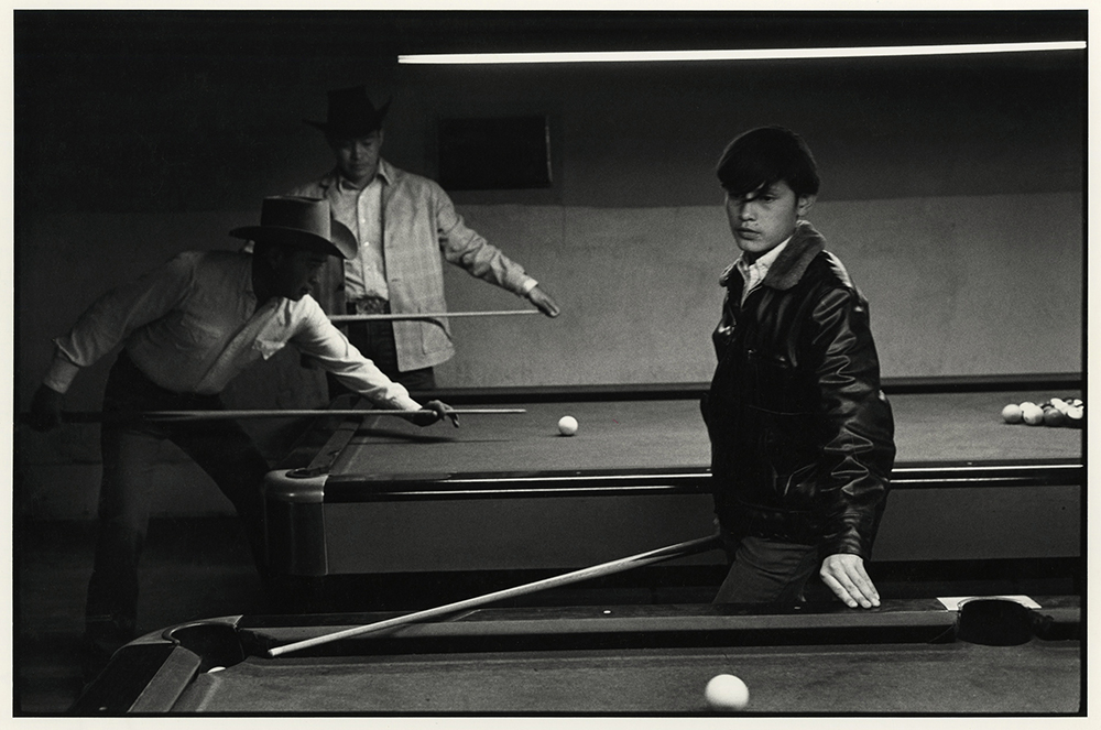 Danny Lyon Navajo Pool Room, Gallup, New Mexico, 1973