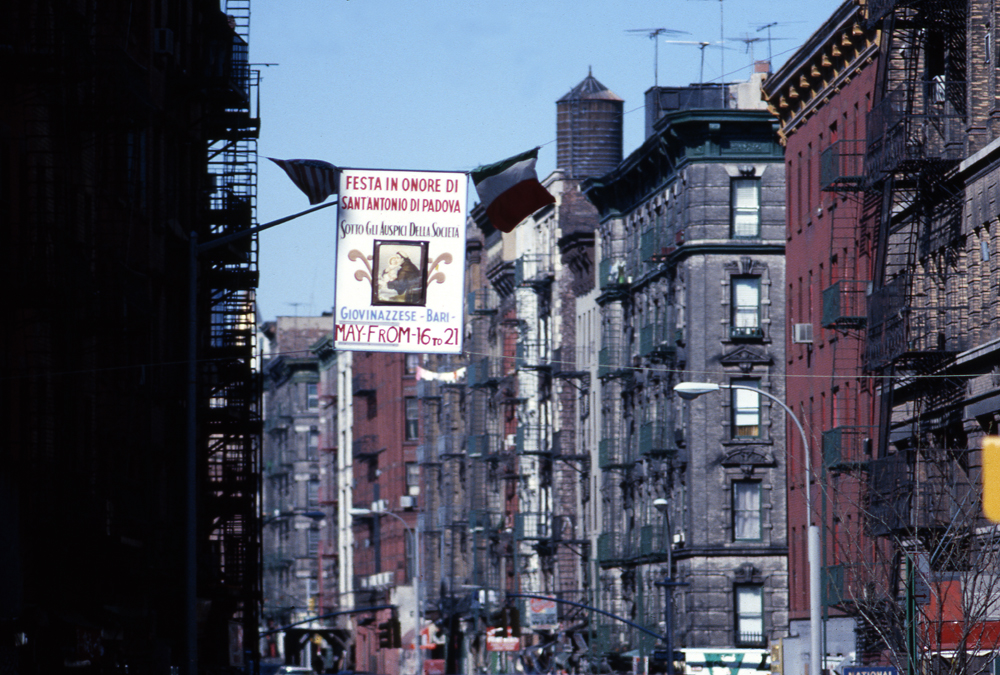 LITTLE ITALY Manhattan. NY 1978